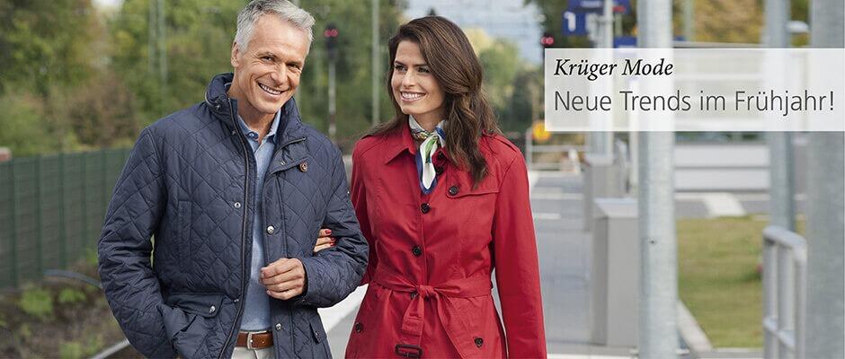 Krüger Mode. Neue Trends im Frühjahr!