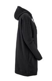 quality design 61850 2aef6 e.s. Oversize Hoody-Sweatshirt poly cotton, Damen schwarz ...
