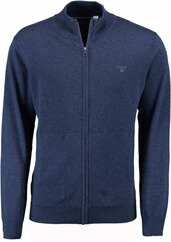 GANT Cardigan Denim Blue