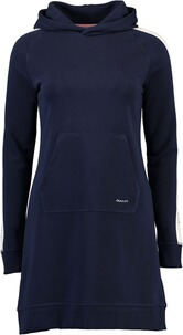 GANT Icon Hoodie Kleid evening blue