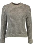 GANT Cozy Sweater light grey melange