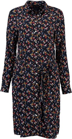 GANT florales Hemdkleid evening blue