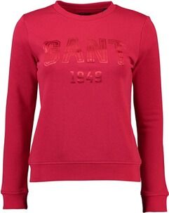 Gant Crew Neck Sweat red