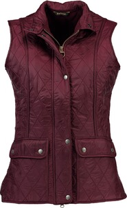 BARBOUR Wray Weste bordeaux