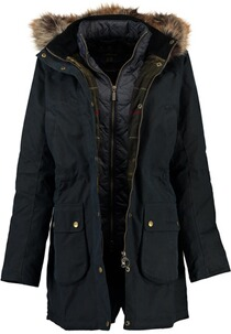 BARBOUR Thrunton Wax Wachsjacke navy