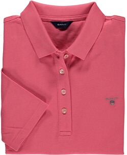 GANT Polo-Shirt Pique rapture rose