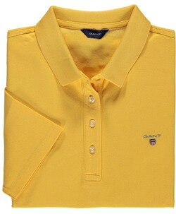 GANT Polo-Shirt Pique Mimosa yellow