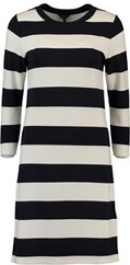 GANT Kleid Barstriped Jersey Dress evenning blue