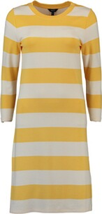 GANT Kleid Barstriped Jersey Dress mimosa yellow