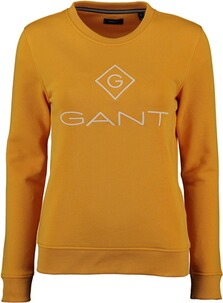GANT Lock up C-Neck Sweat Warm Sun