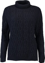 BARBOUR Rollkragen-Pullover Burne Navy