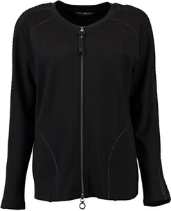 BETTY BARCLAY Jersey-Jacke schwarz