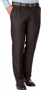 He.-Flanell-Stretch-Hose braun