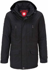 WELLENSTEYN Golfjacke schwarz  Winter
