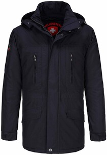 Wellensteyn Jacke Herren: WELLENSTEYN Golfjacke Winter dunkelblau