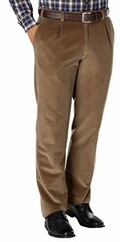 EUREX BY BRAX Stretch-Genua-Cord-Hose marine