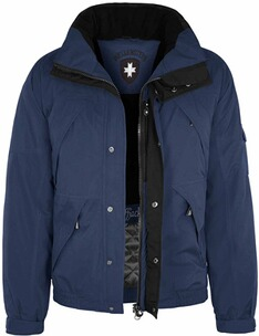 Wellensteyn Jacke Herren: WELLENSTEYN Cliffjacke Winter dunkelblau