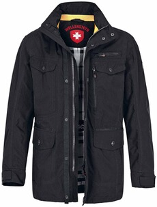 WELLENSTEYN Chester-Jacke Winter schwarz