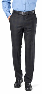 EUREX BY BRAX schwarz karierte Blackwatch Hose