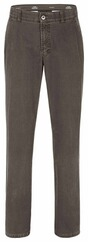 CLUB OF COMFORT Baumwoll Stretchhose khaki