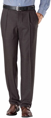 EUREX BY BRAX Flanell-Stretch-Hose Toni