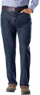 EUREX BY BRAX Tiefbund Stretch-Jeans Pep darkblue