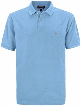 GANT Polo-Shirt The Original Piqué  hellblau