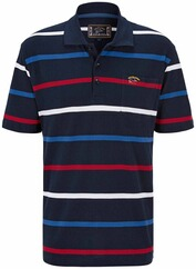 DAVID WILYMS Polo-Shirt marine/royal