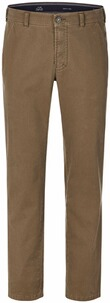 CLUB OF COMFORT Baumwoll-Hose camel