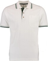 He.-Polo-Shirt weiss Steinbock