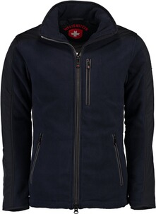 WELLENSTEYN Jet-Fleece Jacke Sport darknavy/titan
