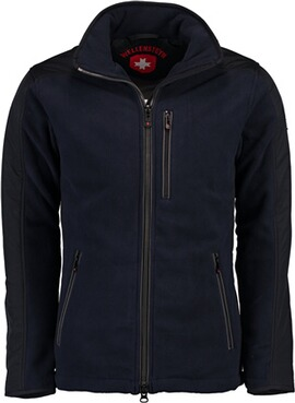 WELLENSTEYN Jet-Fleece-Jacke Sport darknavy/titan