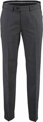 EUREX BY BRAX Schurwoll-Stretch-Hose anthrazit