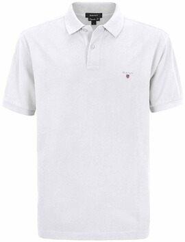 GANT Polo-Shirt The Original Piqué  weiss