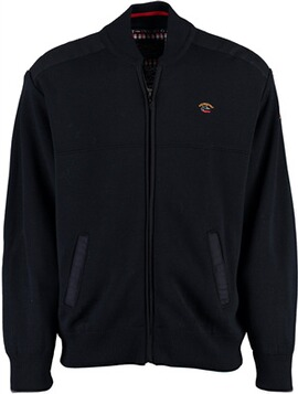 DAVID WILYMS Jacke marine Woll-Mix
