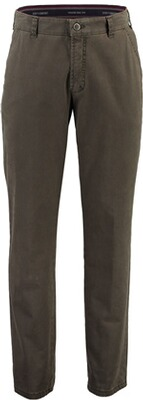 CLUB OF COMFORT High Stretch Baumwollhose oliv