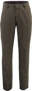 CLUB OF COMFORT High-Stretch Baumwoll-Hose oliv