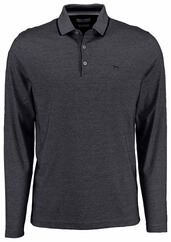 BRAX Polo-Shirt Pharell schwarz