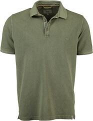 CAMEL ACTIVE Polo-Shirt oliv