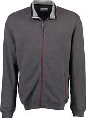 BRAX Strickjacke Scott grau