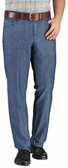 CLUB OF COMFORT Five-Pocket High Stretch Hose jeansblau