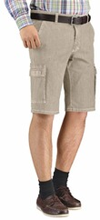 CLUB OF COMFORT High Stretch Cargo Bermuda beige