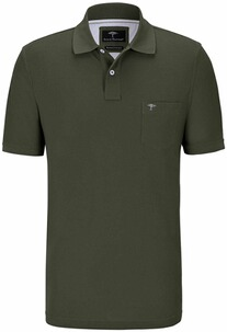 FYNCH HATTON Polo-Shirt oliv