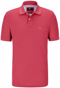 FYNCH HATTON Polo-Shirt koralle