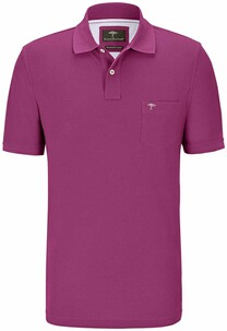 FYNCH HATTON Polo-Shirt beere