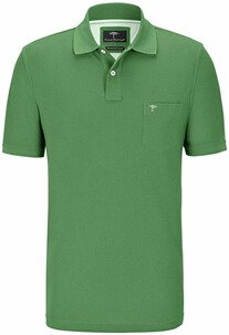 FYNCH HATTON Polo-Shirt grün