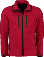 WELLENSTEYN Alpinieri-Softshell-Jacke rot