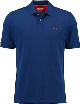 BRAX Polo-Shirt Pete blau