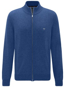 FYNCH HATTON Strickjacke blau