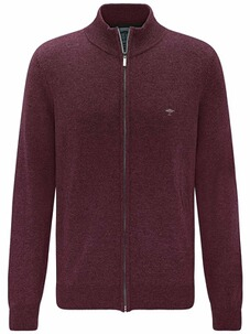 FYNCH HATTON Strickjacke bordeaux